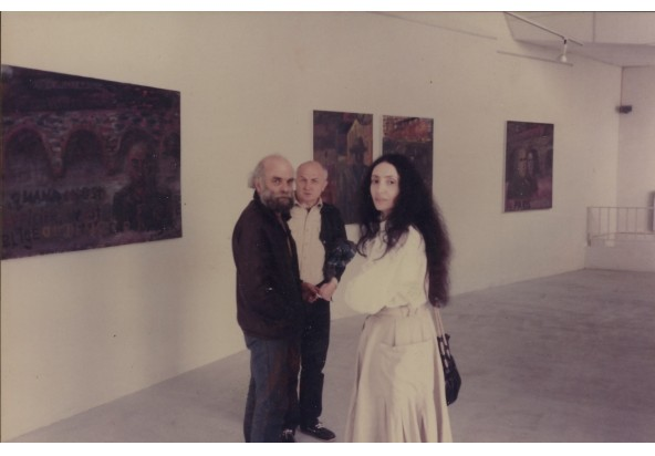 'Travel syndrome' exhibition, George Lavrov Gallery, Paris, 1985